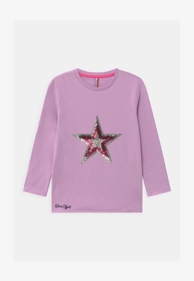 GIRLS STERN - Top sdlouhým rukávem - pastel lila reactive