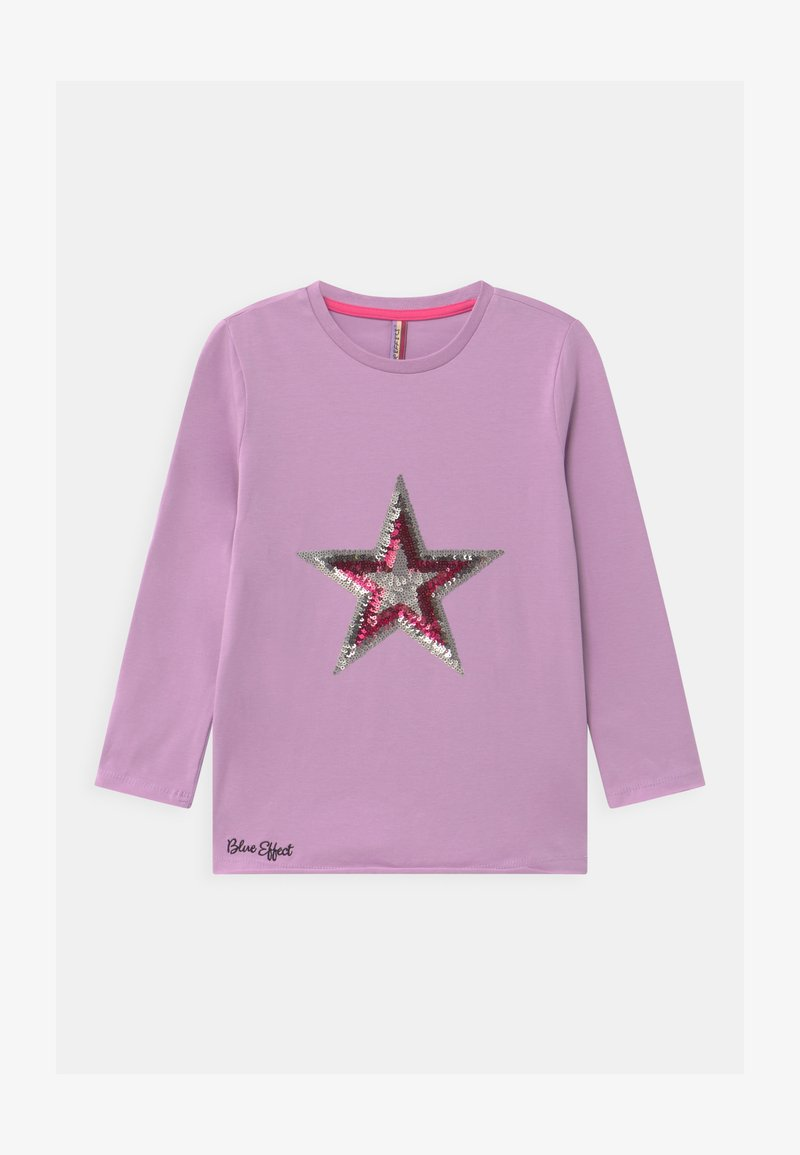 Blue Effect - GIRLS STERN - Long sleeved top - pastel lila reactive