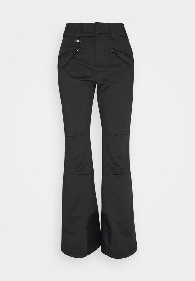 SLALOM SLIM PANT - Zimní kalhoty - black