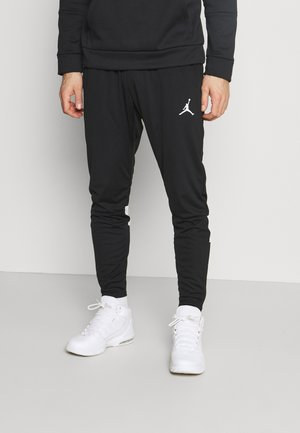 DRY AIR PANT - Verryttelyhousut - black/white