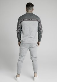 SIKSILK - ARC TECH FADE CREW - Sweater - grey marl - 2
