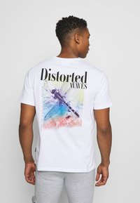 YOURTURN - UNISEX - Print T-shirt - white - 0