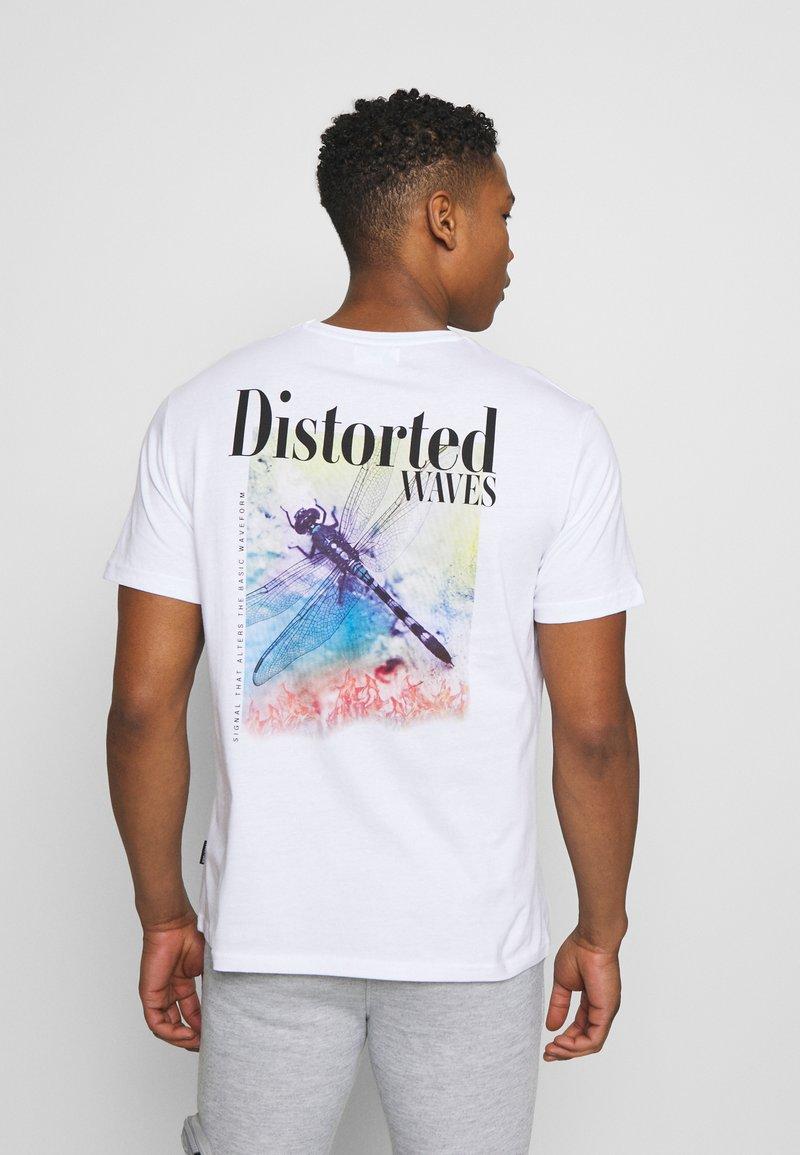 YOURTURN - UNISEX - Print T-shirt - white
