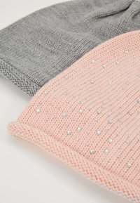 Anna Field - 2 PACK - Mütze - rose/grey - 4