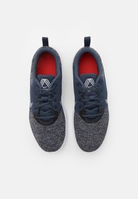 Nike Performance - FLEX EXPERIENCE RN 10 - Chaussures de running neutres - thunder blue/pure platinum/black/white/chile red - 3
