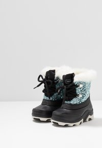 Friboo - Winter boots - black/turquoise - 3
