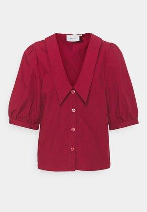 BRIET - Overhemdblouse - red rhubarb