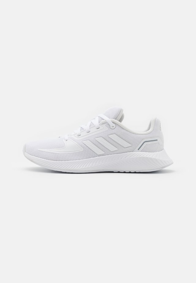 RUNFALCON 2.0 UNISEX - Juoksukenkä/neutraalit - footwear white/grey three