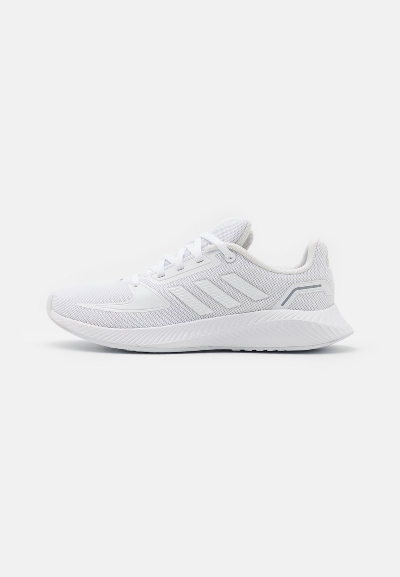 adidas Performance - RUNFALCON 2.0 UNISEX - Juoksukenkä/neutraalit - footwear white/grey three