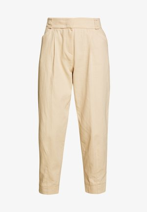WIDE FIT - Pantalon classique - pale almond