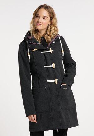 Klassinen takki - dunkelgrau melange