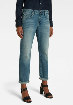 KATE BOYFRIEND - Straight leg jeans - faded tide