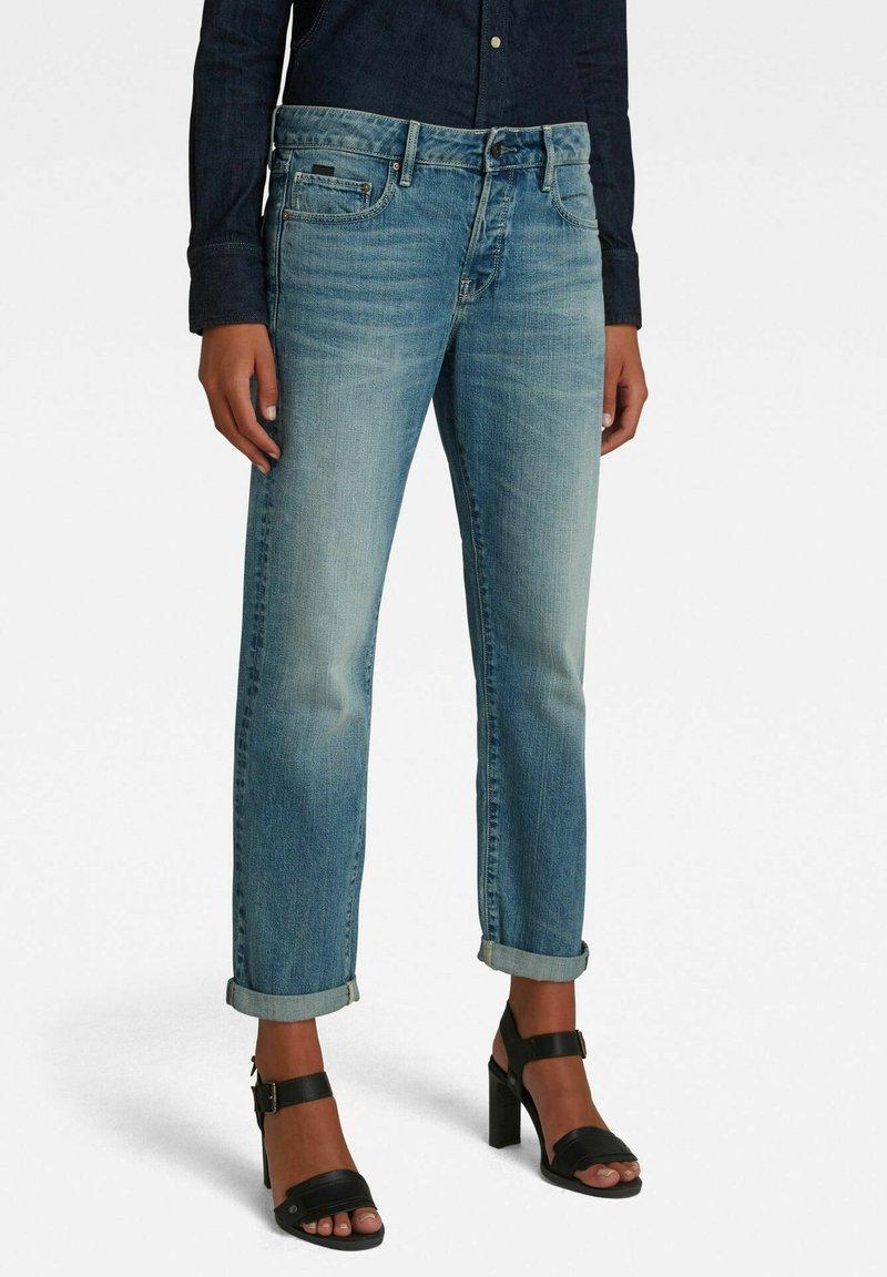 G-Star - KATE BOYFRIEND - Straight leg jeans - faded tide