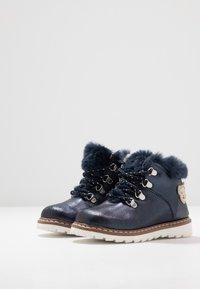 Steiff Shoes - HOLLIEE - Nauhalliset nilkkurit - blue - 3