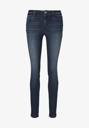 Jeans Skinny Fit - used mid stone blue denim