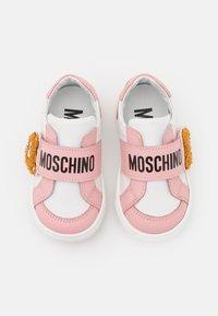 MOSCHINO - Trainers - light pink/white - 3