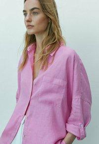 Massimo Dutti - Koszula - neon pink - 1