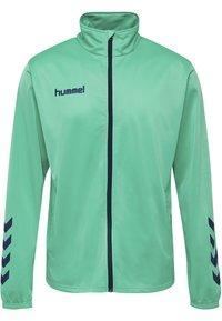 Hummel - TWO PIECE SET - Training jacket - atlantis/marine - 1