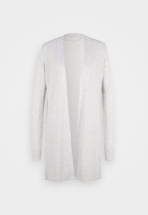 BELLA OPEN THIRD - Cardigan - light heather grey