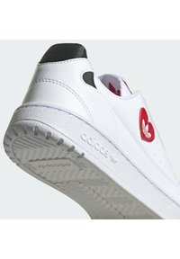adidas Originals - NY 90 - Sneakers laag - ftwr white/scarlet/core black - 10