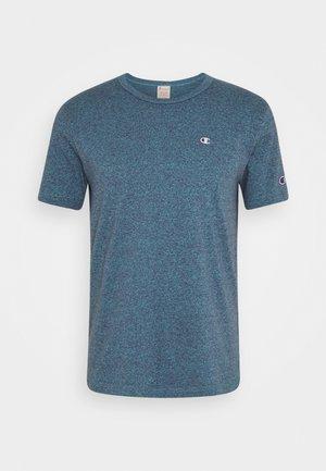 MELANGE CREWNECK - Print T-shirt - mottled blue
