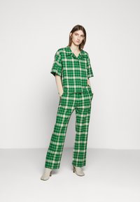 MM6 Maison Margiela - Button-down blouse - green - 1
