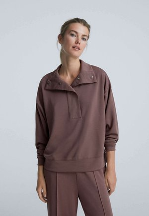 SOFT TOUCH - Sweatshirt - purple
