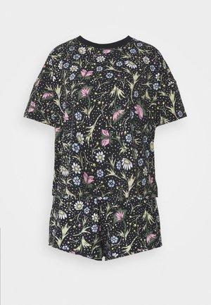 TOVA SET - Pyjama set - black