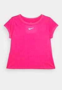 vivid pink/white