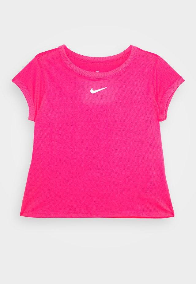 DRY  - T-shirt basic - vivid pink/white