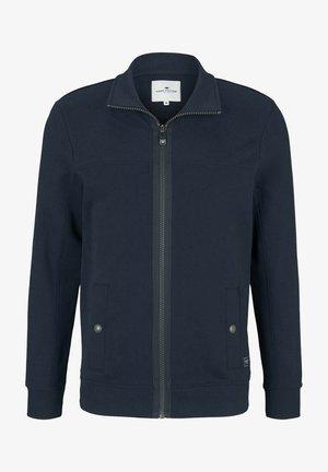 MIT STEHKRAGEN - Zip-up sweatshirt - dark blue