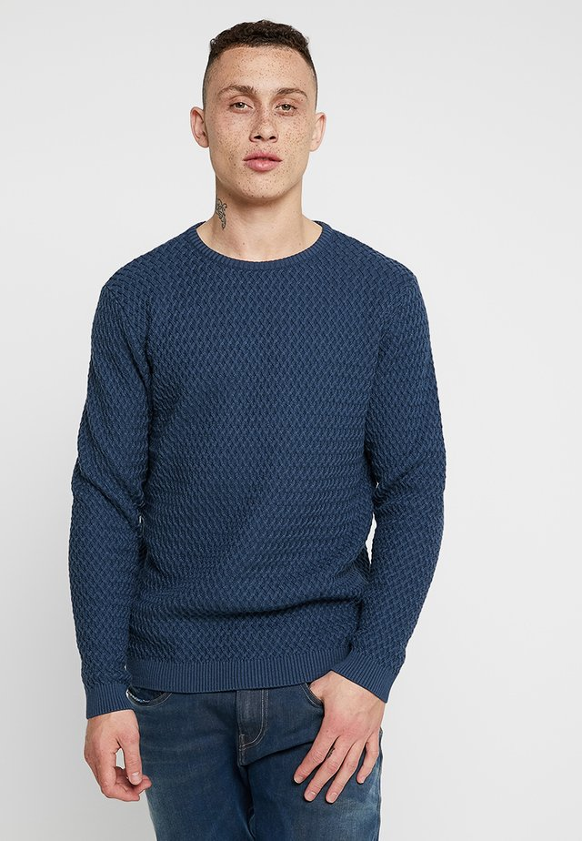SMALL DIAMOND - Pullover - dark denim