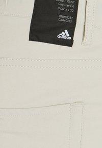 adidas Golf - GO TO FIVE POCKET SHORT - Krótkie spodenki sportowe - beige - 2
