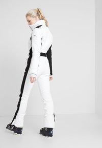 Luhta - JAAMA - Pantaloni da neve - optic white - 2