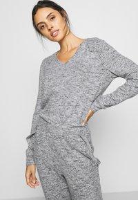 Anna Field - SET - Pyjama set - mottled grey - 4