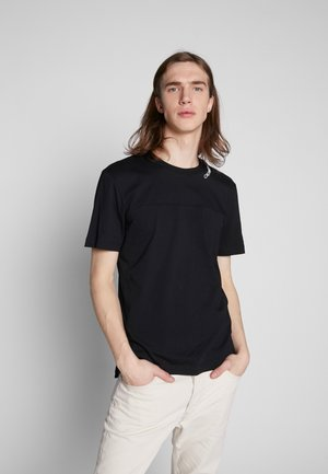 NECK LOGO - T-Shirt print - black