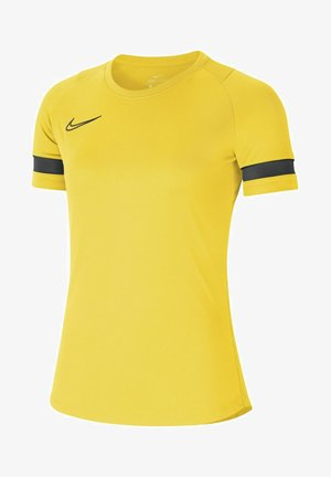 DRY ACADEMY 21 - Basic T-shirt - tour yellow