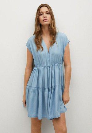 Sukienka letnia - middenblauw