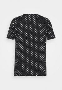 Lauren Ralph Lauren Woman - ALLI SHORT SLEEVE - T-shirt con stampa - black/white - 6
