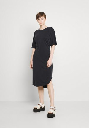 EDDA DRESS - Jersey dress - black dark