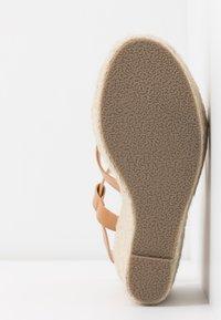 RAID - ROCIO - High heeled sandals - dark coral - 6