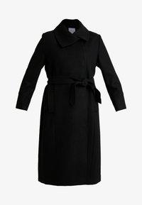 Anna Field Curvy - Classic coat - black - 4