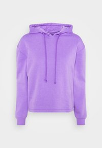 Pieces - PCCHILLI LS HOODIE - Bluza - dahlia purple - 0