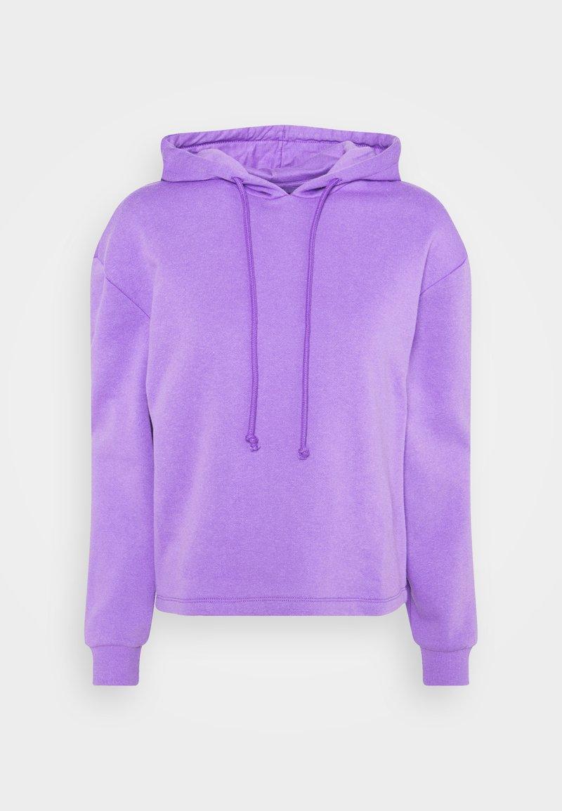 Pieces - PCCHILLI LS HOODIE - Bluza - dahlia purple