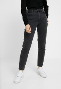 New Look - POCOHONTAS MOM - Relaxed fit jeans - black - 0