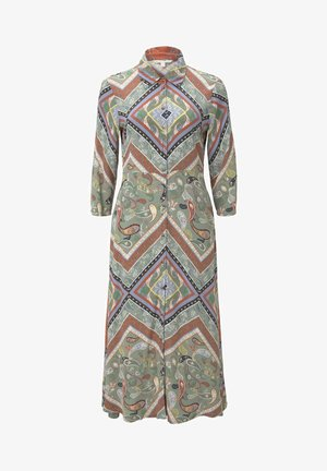 Robe chemise - patchwork paisley print