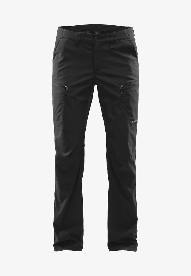 MID FJELL PANT - Outdoor trousers - true black