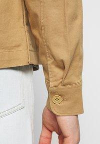 Weekday - AHMED ZIPPED - Summer jacket - beige - 3