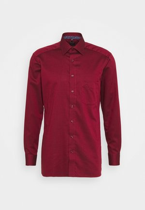MODERN - Zakelijk overhemd - dark red