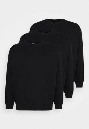 UNISEX 2 PACK - Sweatshirt - black